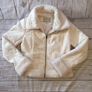 Sugarfly Jackets & Coats - Ivory Sugarfly Jacket